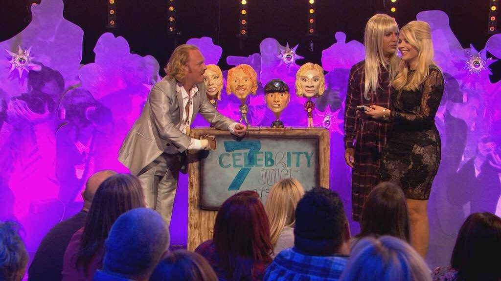 TV set 7th birthday cake for Celebrity Juice Keith Lemon ITV2