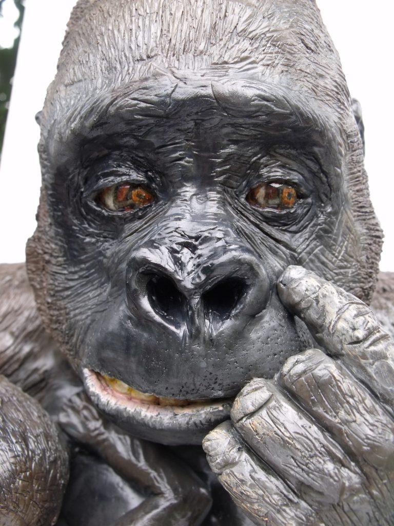 Western Lowland Gorilla cake for WWF