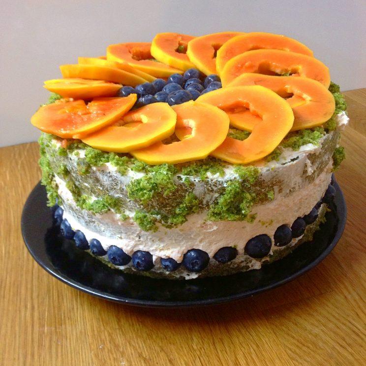 Halloween Moss cake