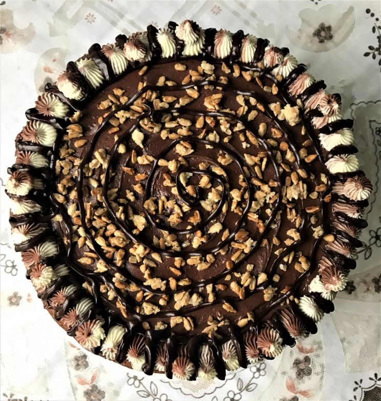 Nutty Sunshine Torte