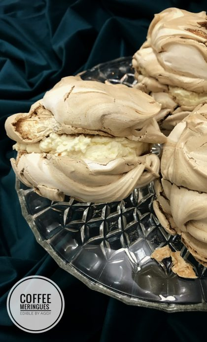 Easy Coffee meringues recipe Edible By Aggy