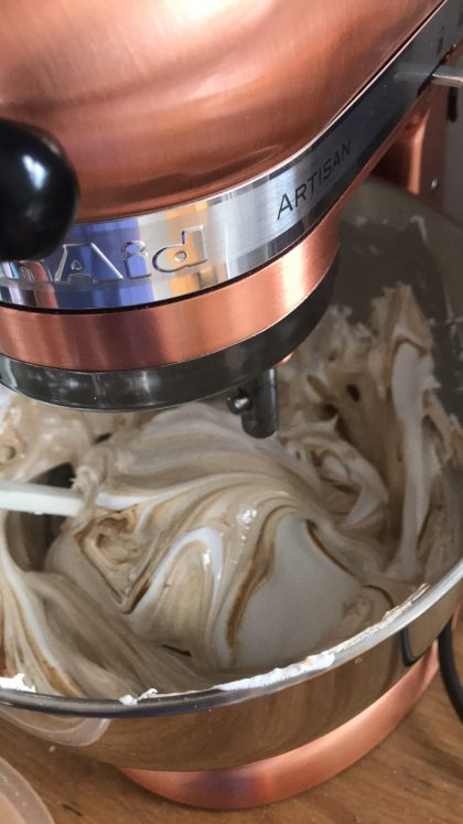 Easy Coffee meringues recipe Edible By Aggy Dadan